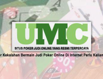 Judi Poker Online Di Internet Perlu Kalian Tahu - Situs Poker